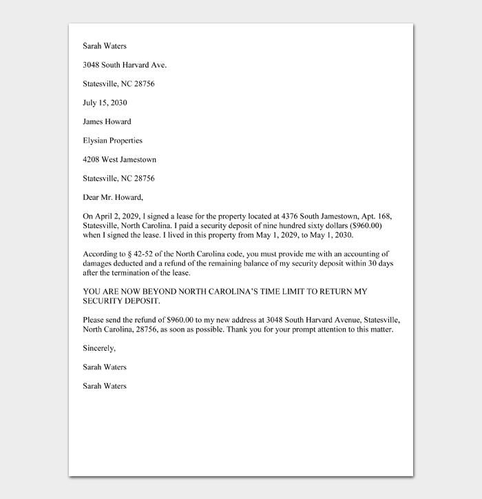 Sample-Security-Deposit-Demand-Letter